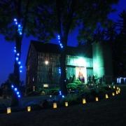 Barn Dance at Night