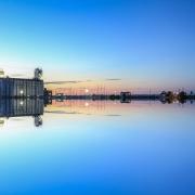Collingwood Harbour Reflection