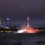 Niagara Falls Tower Night